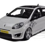 Renault Twingo RS White 1/24 Diecast Model Car by Bburago