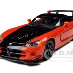 Dodge Viper SRT 10 ACR Orange 1/24 Diecast Model Car by Bburago