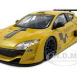 Renault Megane Trophy Racing Yellow 1/24 Diecast Model Car by Bburago