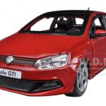 Volkswagen Polo GTI Mark 5 Red 1/24 Diecast Car Model by Bburago