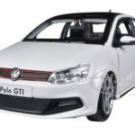 Volkswagen Polo GTI Mark 5 White 1/24 Diecast Car Model by Bburago