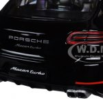Porsche Macan Turbo Black 1/24 Diecast Model Car by BBurago