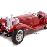 1932 Alfa Romeo 8C  2300 Spider Touring Red 1/18 Diecast Model Car by Bburago