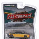 2015 Chevrolet Silverado 1500 Black and Yellow Pickup Truck All Terrain Series 2 1/64 Diecast Model by Greenlight