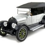 1919 Cadillac Type 57 Phaeton Grey 1/32 Diecast Model Car by Signature Models