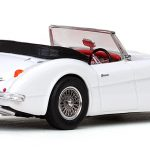 Austin Healey 3000 Open Convertible White 1/43 Diecast Model Car by Vitesse
