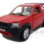 Land Rover Freelander Red 1/24 Diecast Model Car by Bburago