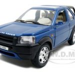 Land Rover Freelander  Blue 1/24 Diecast Model Car by Bburago