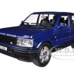 Land Rover Range Rover Blue 1/24 Diecast Car Model by Bburago