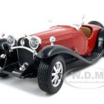 Bugatti Type 55 Red 1/24 Diecast Car Model by BBurago