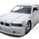BMW M3 White 1/24 Diecast Model Car by BBurago