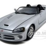 Dodge Viper SRT-10  Silver  1/24 Diecast Model Car by Bburago