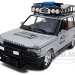 Range Rover Safari Experience 1/24 Diecast Model Car by Bburago