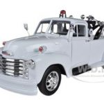 1953 Chevrolet 3800 Tow Truck Plain White 1/24 Diecast Model by Welly