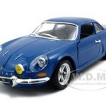 Renault Alpine A110 1600S Blue 1/24 Diecast Model Car by Bburago