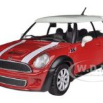Mini Cooper S Coupe Red 1/24 Diecast Car Model by Bburago