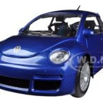 Volkswagen New Beetle RSI Blue 1/24 Diecast Car Model by Bburago