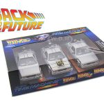 Back To The Future 1 2 3 Trilogy Delorean Time Machine Set 1/24 Diecast Car Models  by Welly