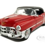 1953 Cadillac Eldorado Soft Top Red Diecast Car Model 1/24 Die Cast Car by Welly