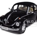 Volkswagen Beetle Black 1/24 Diecast Car Model by Welly