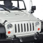 2007 Jeep Wrangler White 1/24 Diecast Model Car by Welly