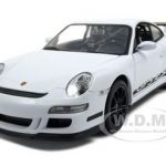 Porsche 911 (997) GT3 RS White 1/24 Diecast Car by Welly