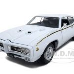 1969 Pontiac GTO Judge White 1/24 Diecast Car by Welly