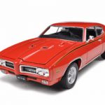 1969 Pontiac GTO Judge Orange 1/24 Diecast Model Car by Welly