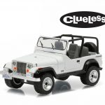 1994 Jeep Wrangler Clueless Movie (1995) 1/64 Diecast Model Car by Greenlight