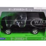 2008 Chevrolet Tahoe Street Version Black 1/24 Diecast Model Car by Welly