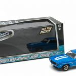 Brians 1969 Chevrolet Yenko Camaro The Fast and The Furious-2 Fast 2 Furious Movie (2003) 1/43 Diecast Model Car by Greenlight