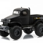 1941 Military 1/2 Ton 4×4 Pick Up Truck Black Bandit 1/64 Diecast Model  by Greenlight
