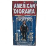 Police Officer Harry Figure For 1:24 Scale Models by American Diorama