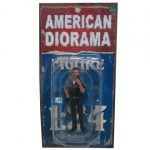 Police Officer Jake Figure For 1:24 Scale Models by American Diorama