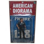 Police Officer Harry Figure For 1:18 Scale Models by American Diorama