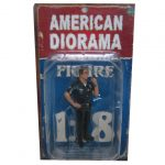 Police Officer Jake Figure For 1:18 Scale Models by American Diorama