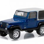 1990 Jeep Wrangler YJ Country Roads Series 14 1/64 Diecast Model Car by Greenlight