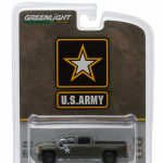 2015 Chevrolet Silverado Pickup Truck US Army LSSV 1/64 Diecast Model by Greenlight