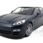Porsche Panamera S Blue 1/24 Diecast Car Model by Welly