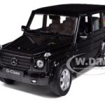 Mercedes G Class Black 1/24 Diecast Car Model by Welly