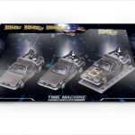 Delorean DMC 12  Back to the Future Movie 123 set 1/43 Diecast Model by Vitesse