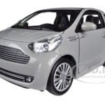 Aston Martin Cygnet Silver 1/24 Diecast Car Model by Welly
