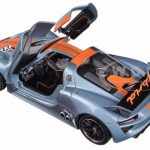Porsche 918 RSR #22 1/24 Diecast Model Car by Welly