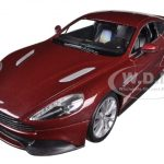 Aston Martin Vanquish Bronze 1/24 Diecast Car Model by Welly