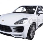 Porsche Macan Turbo White 1/24 Diecast Model Car by Welly