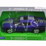 2013 Dodge Challenger SRT Purple 1/24 Diecast Model Car by Welly