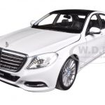 Mercedes S Class White 1/24 Diecast Model Car by Welly