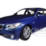 BMW 5 Series GT Blue 1/24 Diecast Car Model by Motormax
