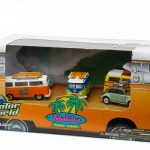 Malibu Surf Shop 5 Cars Motor World Diorama Set 1/64 Diecast Model Cars by Greenlight