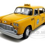 1981 Los Angeles Taxi Cab Checker 1/18 Diecast Model Car by Sunstar